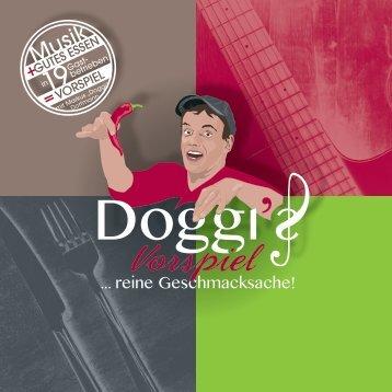 Doggi - Markus Dorfmann - Gasthaus Tournee VORSPIEL - Reine Geschmackssache