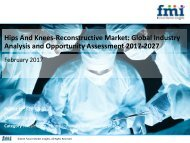 Hips And Knees-Reconstructive Market Growth, Forecast and Value Chain 2017-2027