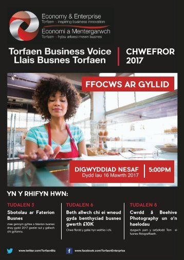 Torfaen Business Voice Newsletter - February edition (Welsh)