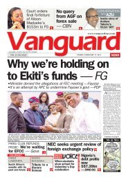 17022017 - Why we're holding on to Ekiti's funds — FG