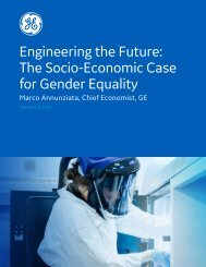 Engineering the Future The Socio-Economic Case for Gender Equality