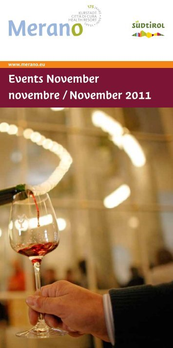 Events November novembre / November 2011 - Eventi e Sagre