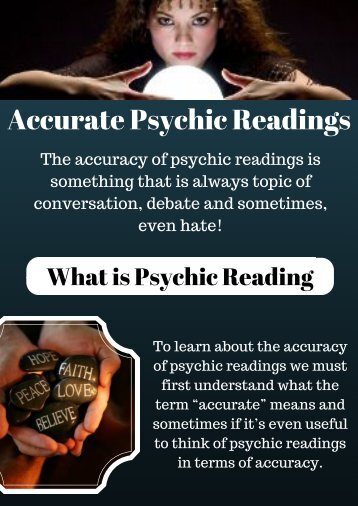 Accurate Psychic Readings