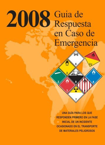 Guía de Respuesta en Caso de Emergencia 2008