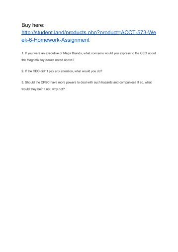 acct547 week5 View homework help - acc 547 week 5 individual assignment from acc 547 at university of phoenix chapter 15 problem 83 dawn taylor is currently employed by the state chamber of commerce.