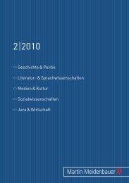 Martin Meidenbauer Verlag