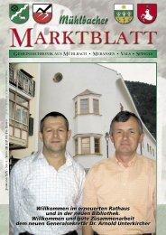 Mühlbacher Marktblatt 03/2005