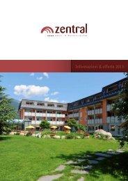 Il nostro listino 2013 in forma PDF - Aktiv- und Wellnesshotel Zentral