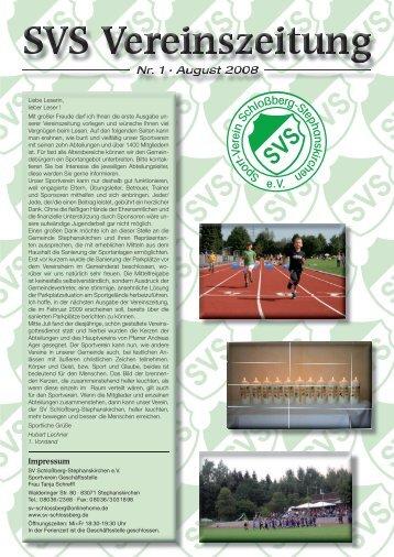 Lechnerholzbau - SV Schloßberg-Stephanskirchen eV