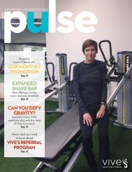 VIVE Health & Fitness   February Issue (Prospective)