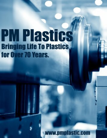 PM Plastics - High Volume Plastic Injection Molding