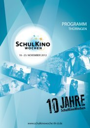 PROGRAMM - Schulkinowoche Thüringen / Sachsen Anhalt