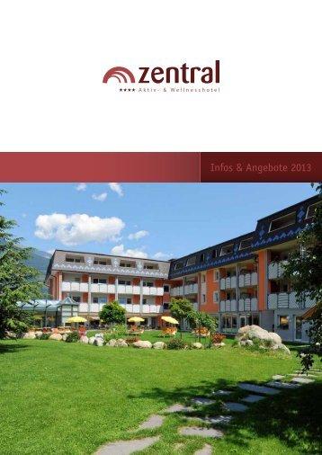 Unsere Preisliste 2013 als PDF - Aktiv- und Wellnesshotel Zentral