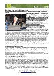 Bericht vom 10.03.2009 - Südtiroler Bauernjugend