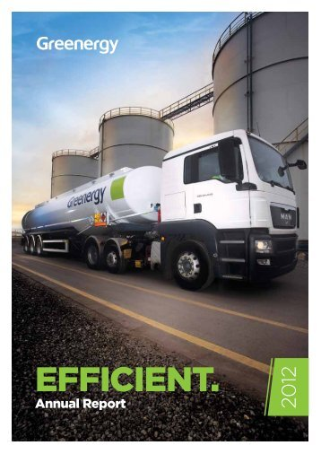 Our aim is to deliver customer value by creating cost ... - Greenergy