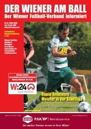 Nach - Wiener Fußball Verband