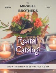 The Miracle Brothers: Spring 2017 Rental Catalog