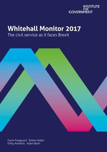 Whitehall Monitor 2017