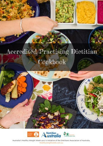 Accredited Practising Dietitian Cookbook