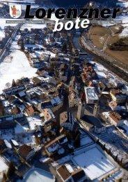 Lorenzner Bote - Ausgabe März 2010 (1,81 MB