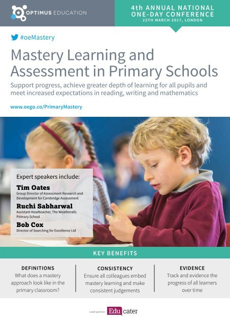 Mastery Learning and Assessment in Primary Schools