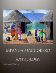 Mpanda Machokero Anthology by Bonwell Rodgers