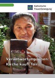 Kirche kauft fair - Clean Clothes Kampagne