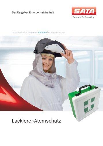 SATA Ratgeber Lackierer Atemschutz