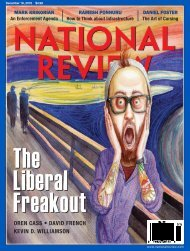 The Liberal Freakout