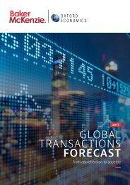 GLOBAL TRANSACTIONS FORECAST