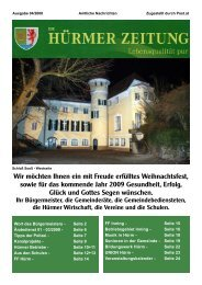 Ausgabe 04/2008 (1,79 MB) - Marktgemeinde Hürm