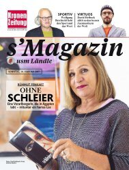 s'Magazin usm Ländle, 19. Februar 2017