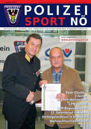 Peter Chudik - Landespolizeisportverein NÖ