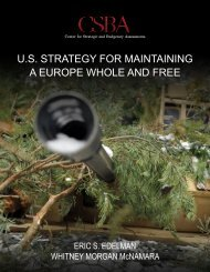 U.S STRATEGY FOR MAINTAINING A EUROPE WHOLE AND FREE