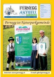 Pernegg ist Naturparkgemeinde - Gemeinde Pernegg