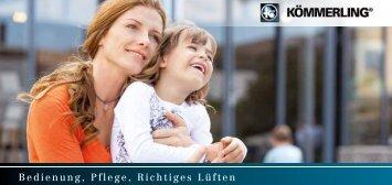 KOEMMERLING-Broschuere-Bedienung-Pflege-Richtiges-Lueften-201138018-0415-web