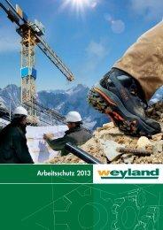 Arbeitsschutz 2013 - Weyland GmbH