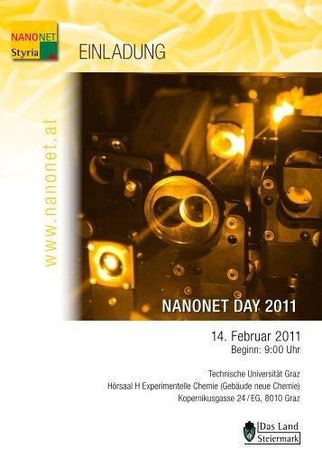 Einladung NANONET Day - PCCL