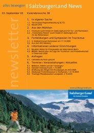 Nummer 38/2005 - SalzburgerLand Netoffice