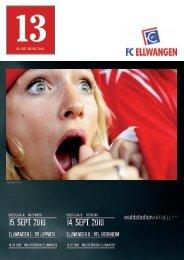 15. sept. 2010 14. sept. 2010 - FC Ellwangen 1913