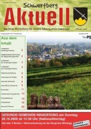 Gemeindezeitung Nr. 49 im Okt. 08 - Schwertberg