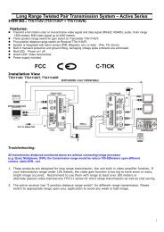 Long Distance Twisted Pair AV Transmission System