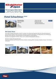 Hotel Schachtner *** - Ferienregion Hohe Salve
