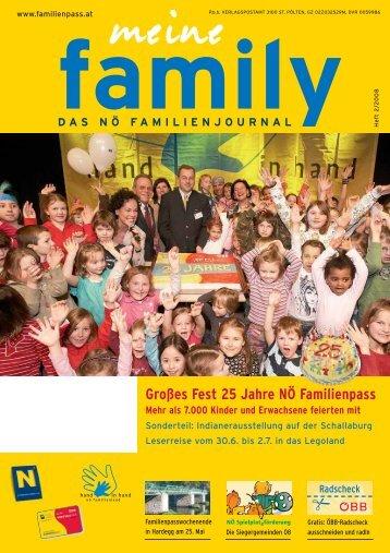 Großes Fest 25 Jahre NÖ Familienpass Mehr als 7.000 Kinder und ...