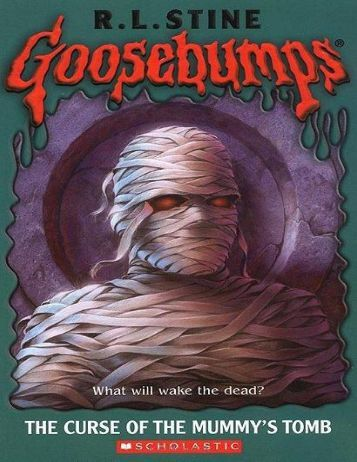 Book 5-The Curse of the Mummy's Tomb by R. L. Stine_ZEUS UPLOADS
