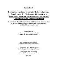 Bestimmungsgründe räumlicher Lohnvarianz ... - Dr.Dr. Josef Baum
