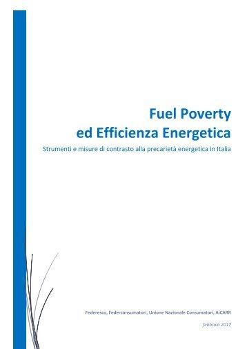 Fuel Poverty ed Efficienza Energetica