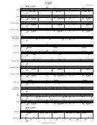 cappy - Full Score