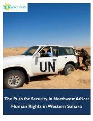 ! Human Rights in Western Sahara!