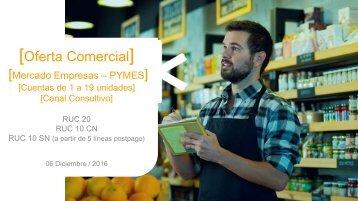 Oferta Comercial Empresas 06 Diciembre 16 - PYMES